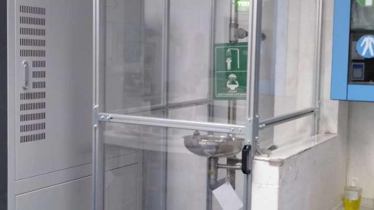 งานตู้อาบน้ำสำเร็จรูป (งานติดตั้งในโรงงาน)