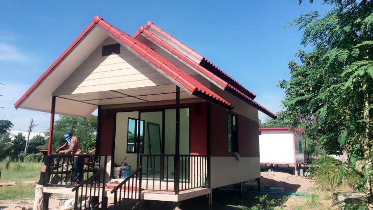 งานย้ายบ้านสำเร็จรูป บ้านน็อคดาวน์