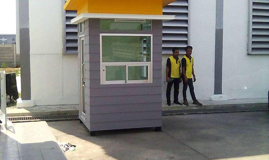 ตู้ป้อมยามสำเร็จรูป