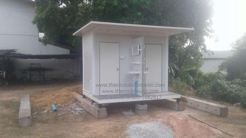 ตู้ห้องน้ำสำเร็จรูป  (ห้องน้ำคู่) ISOWALL
