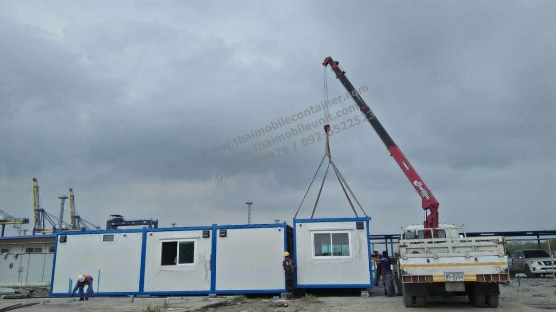 ตู้สำนักงานสำเร็จรูป (ตู้ออฟฟิศประกบ ขนาดใหญ่ 6.00 x 20.00 เมตร) ISOWALL