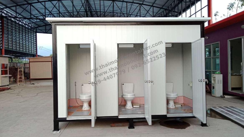 ตู้ห้องน้ำ ISOWALL (ตู้สุขาสำเร็จรูป)