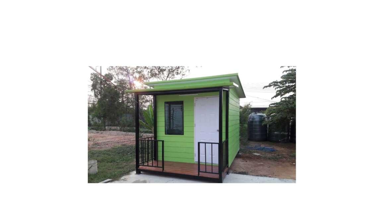 ตู้บ้านพักสำเร็จรูป (ไม้ฝาเชอร่าหลังคาไอโซวอล)