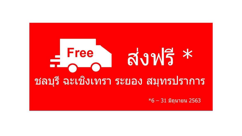 โปรโมชั่น ส่งฟรี **